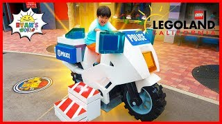 LEGOLAND Family Fun Amusement Theme Park for kids with Ryan!!!!