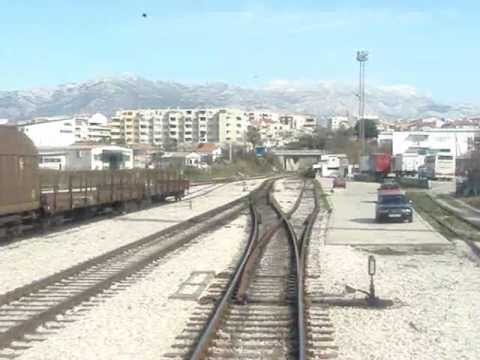 Vlakom od Splita do Kaštela