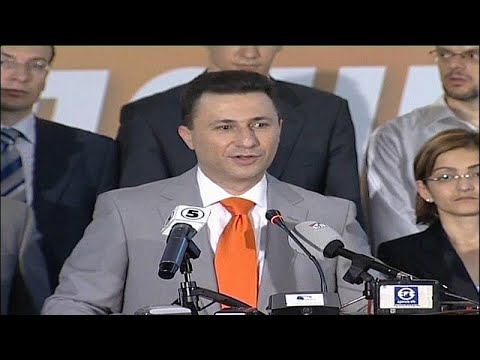 Antigo primeiro-ministro da Macedónia pede asilo político à Hungria