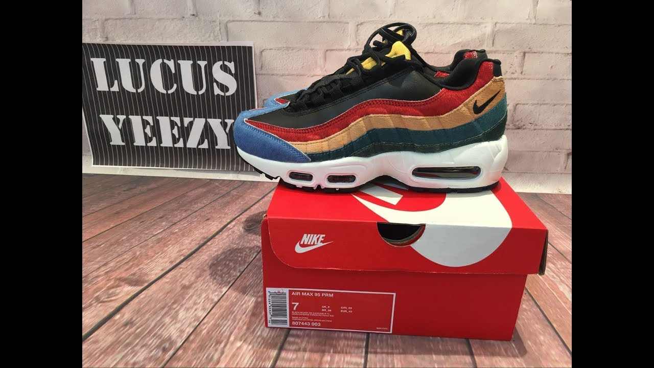 50d9d95c793e nike air max 95 review lucus yeezy - YouTube