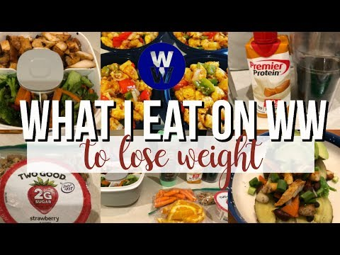 What I Ate to Lose Weight | Stress won't beat me!! |WW Freestyle