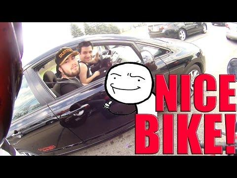 NICE BIKE..LETS RACE!
