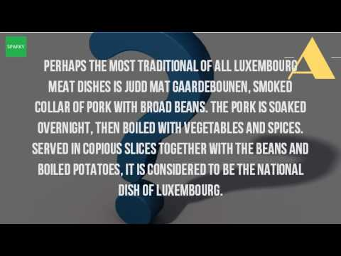 What Is Luxembourg Famous For In Food?
