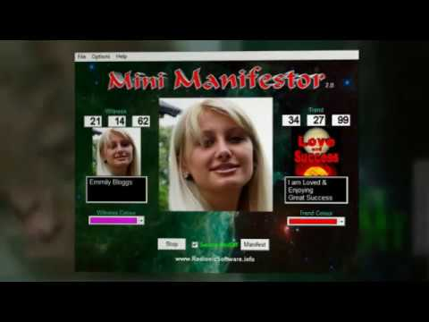 How to use Mini Manifestor 2.0 Radionics Software New Version New Features Great Low price