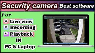How to View and record your CCTV on a PC or Laptop in Urdu / Hindi