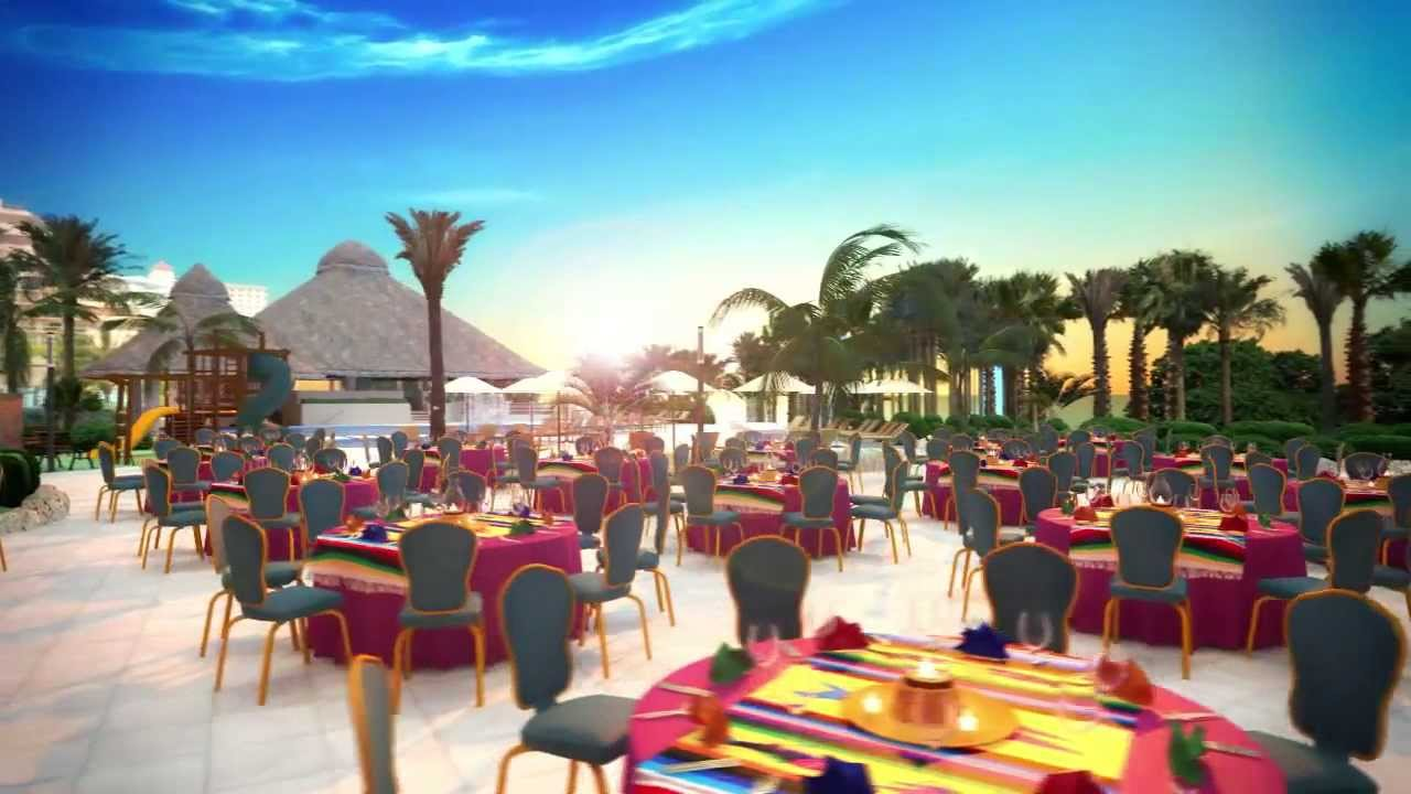 Sunrise Terrace At Fiesta Americana Grand C Beach Cancun You