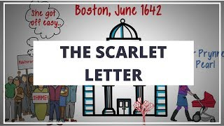 THE SCARLET LETTER BY NATHANIEL HAWTHORNE // ANIMATED BOOK SUMMARY