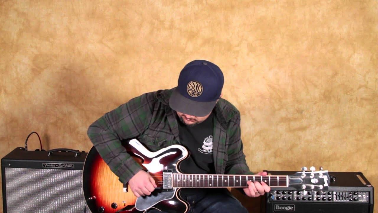 gibson es335 sunburst blues guitar solo marty schwartz boss rc