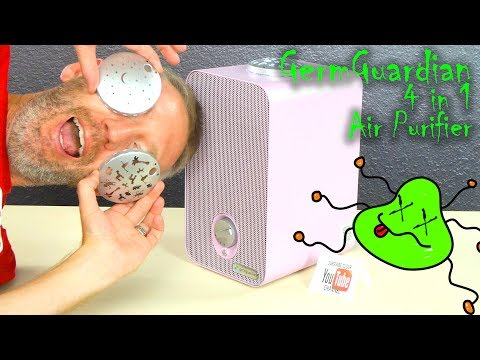 GermGuardian Night-Night 4-in-1 Air Purifier Review | For Allergies | Nursery Air Purifier