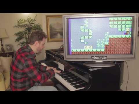 Alex Kidd music on Piano
