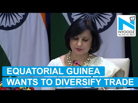 MEA: Equatorial Guinea is Keen to Diversify Trade With India Beyond Oil & Gas | NYOOOZ TV