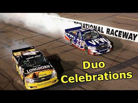 Duo Celebrations in NASCAR