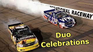 Duo Celebrations in NASCAR