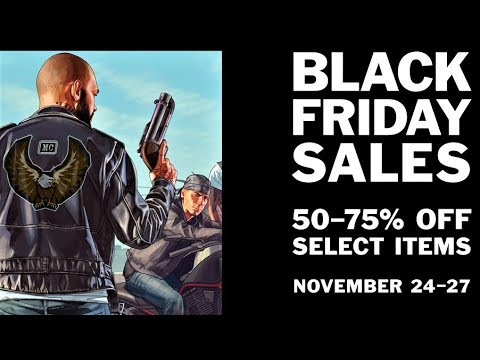 GTA Online Black Friday Newswire Discounts For This Weekend Only! - News & Updates