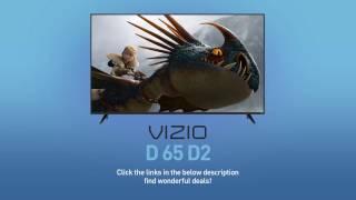 "All-New 2016 VIZIO D65-D2 D-Series 65"" Class Full‑Array LED Smart TV // Full Specs Review  #VIZIO"