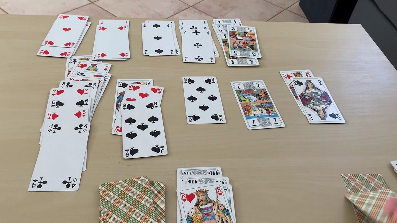 jeu de carte crapette Règle crapette avec jeu de tarot   YouTube