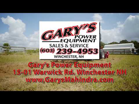 Gary's Power Equipment - Wincester, NH - Summer 2017