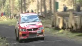 James Grint - Team GMF Wyedean Forest Rally 2011