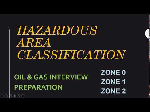 Hazardous Area Classification - Interview Material