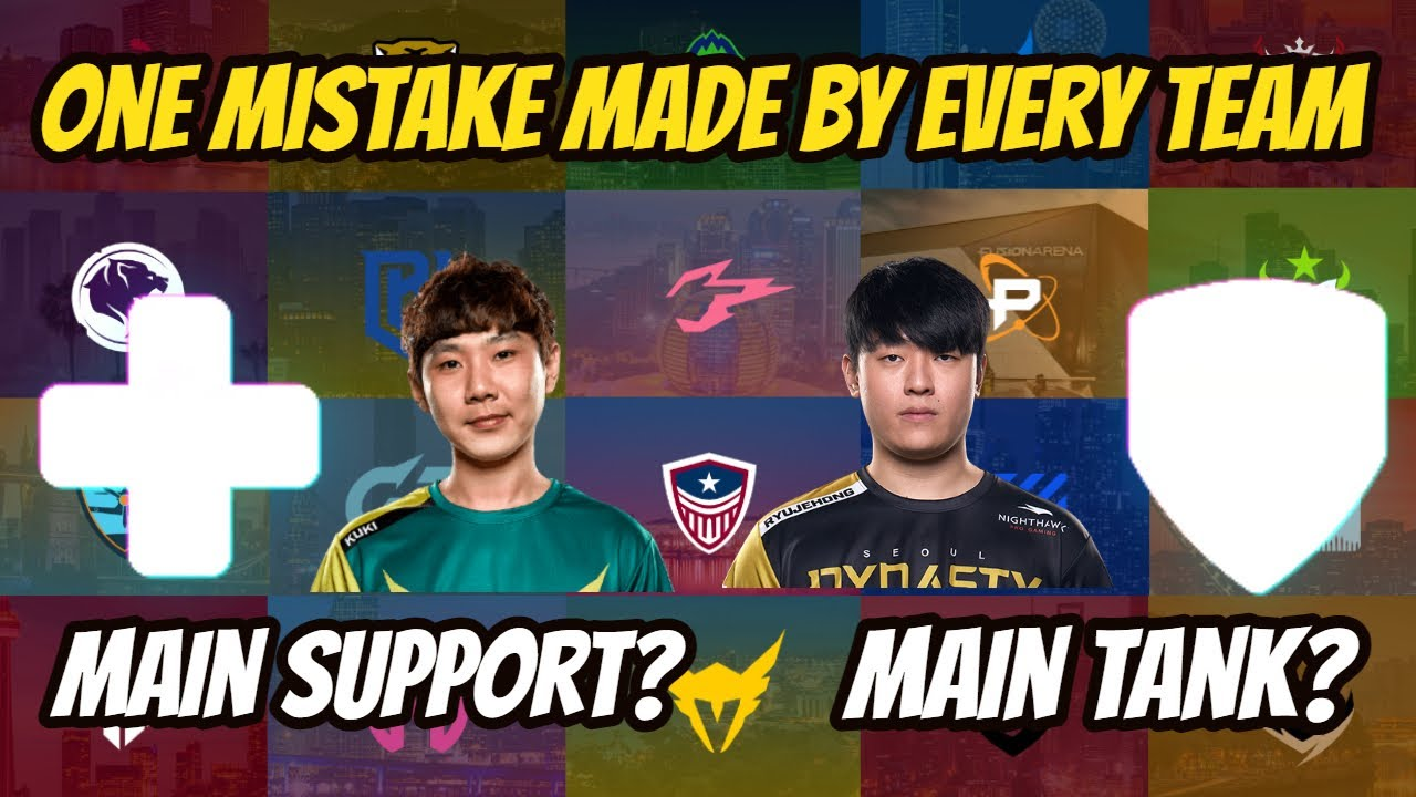 One Mistake Made By Every Overwatch League Team