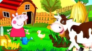 Peppa pig Свинка Пеппа мультфильм для детей Пэпа на ферме новые серии на русском