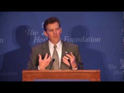 Jim DeMint on Heritage's Influence