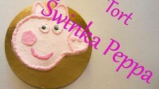 Jak zrobić tort w kształcie Świnki Peppy // How to make Peppa Pig cake // Swiat Kredki