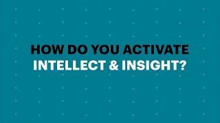 Activating Responsible Leadership: Intellect \u0026 Insight | Accenture