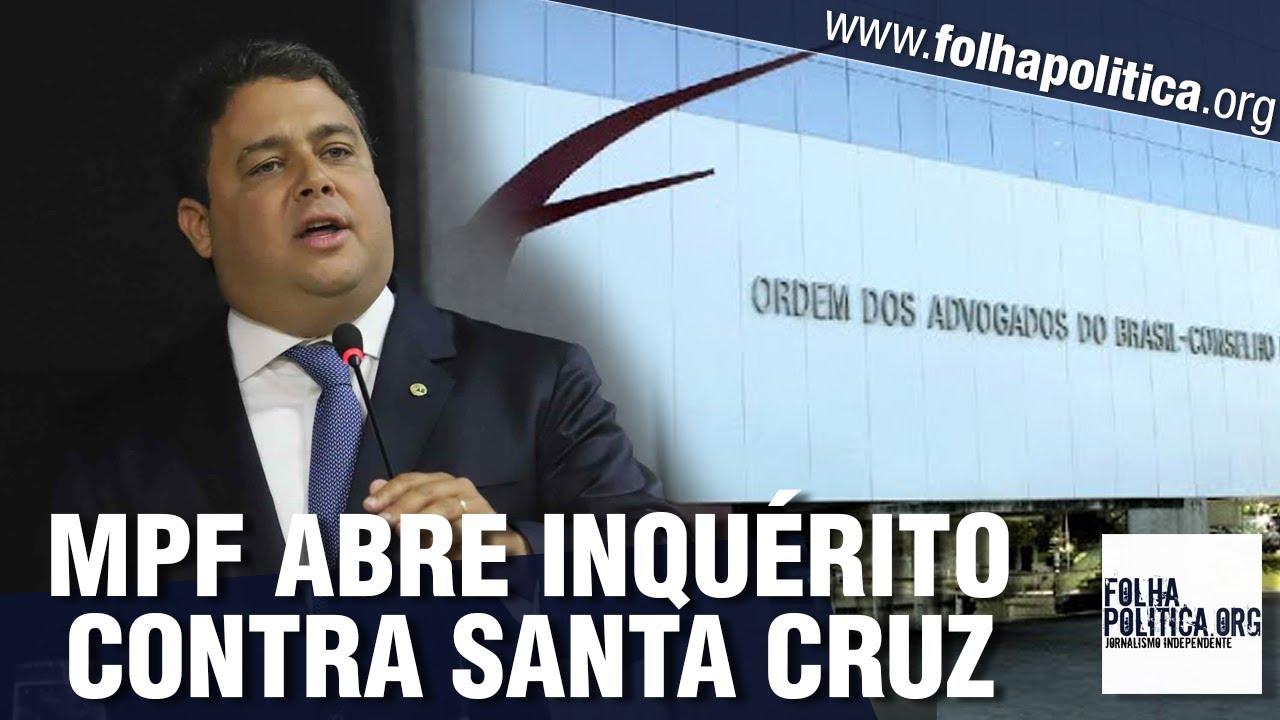 MP abre inquérito para investigar grave denúncia contra presidente da OAB, Felipe Santa Cruz