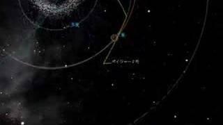 ボイジャー2号の軌跡