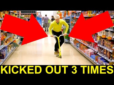 GAME OF PIG AT TESCO, ASDA & POUNDLAND😈 (kicked out 3times)
