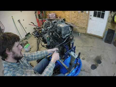 OM617 to Toyota Pickup/4Runner Swap Part 2: OM617 Part Installation and Service