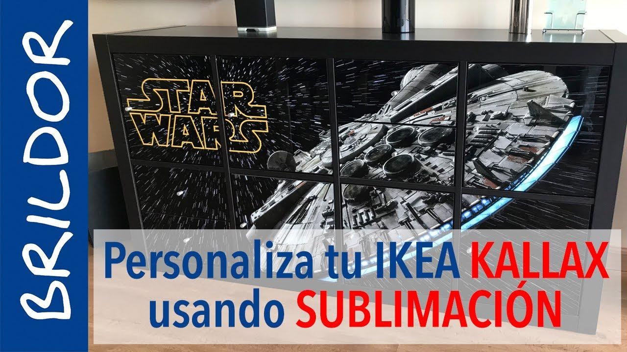 Personaliza Los Kallax De Ikea Con Sublimación