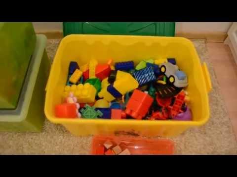 Ашан vs  IKEA ящики для хранения игрушек