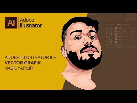 Vector Cartoon Çizim Nasıl Yapılır - Vector Tutorial - Adobe Illustrator 2019 thumbnail