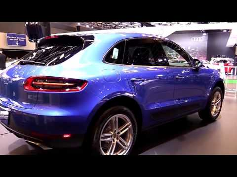 2017 Porsche Macan Blue Sea | Exterior and Interior | First Impression | Look in 4K