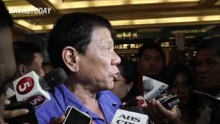 Mayor Duterte reacts to son's resignation from Hugpong Party