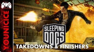 Sleeping Dogs Takedowns & Finishers | Finishing Moves | Combat | Kill Montage Part 2