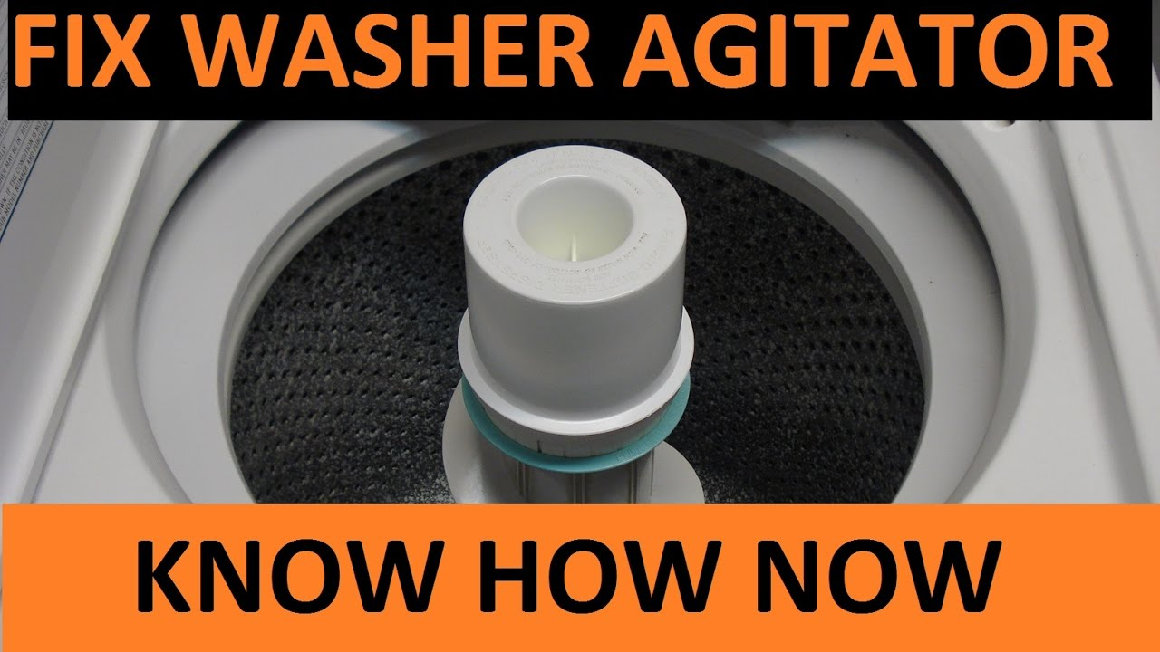 Diagnose Kenmore Washer Not Agitating Or Spinning Washer Motor