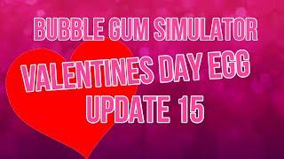 ❤️ ROBLOX Bubble Gum Simulator- Let's Grind the New Valentines Egg LIVE! ❤️