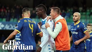 Mario Balotelli Convinced To Stay On Pitch After Racist Abuse At Verona