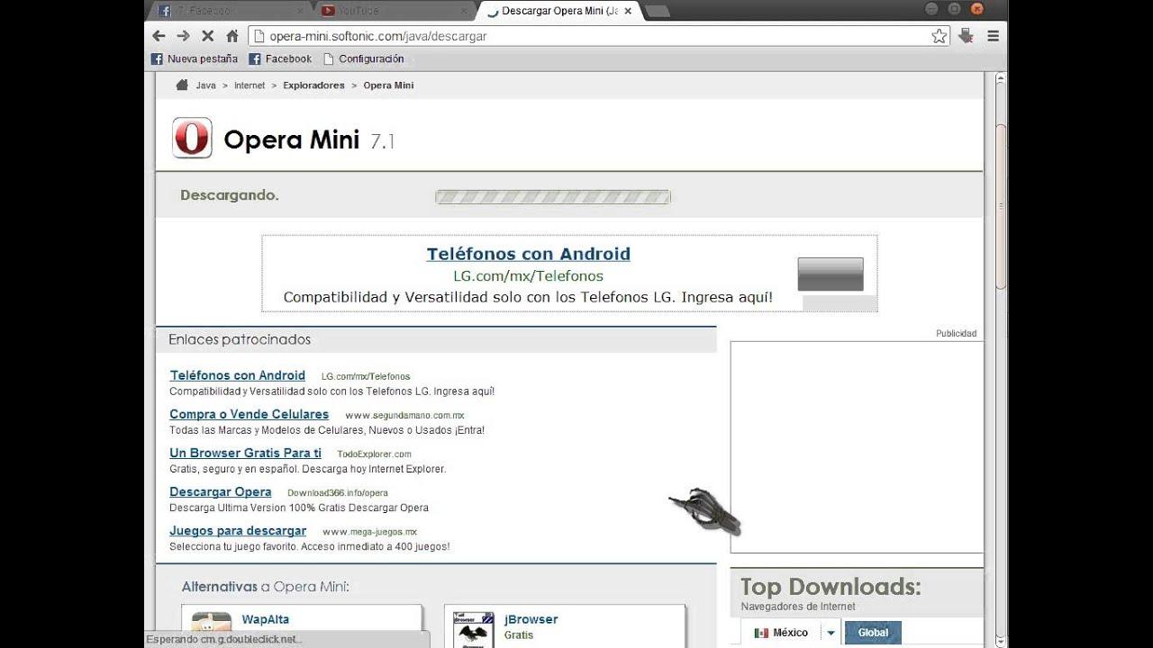 descargar opera mini en español para nokia c3