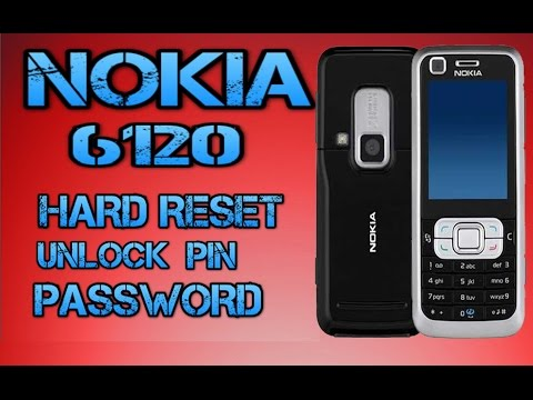 NOKIA 6120 HARD RESET/UNLOCK PIC PASSWORD