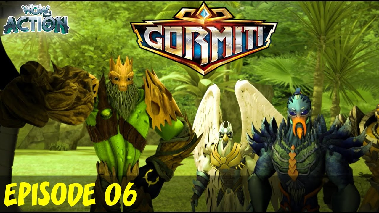 Gormiti in Hindi | EP 06 | Full Episode | Hindi Cartoons for Kids | Wow Kidz Action