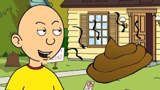 Caillou Pees And Poops All Over The Neighbour's House/Grounded