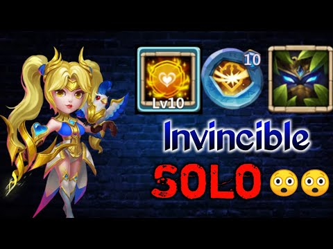 Dove Keeper | 10K Dodge Without Pet😲 | Invincible | Try To Kill | Solo Gameplay | Castle Clash