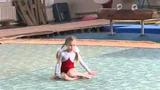Спортивная гимнастика (дети)(Соревнования начало 2009 года.Детям на видео от 5 лет и старше., 2010-09-21T08:54:27.000Z)
