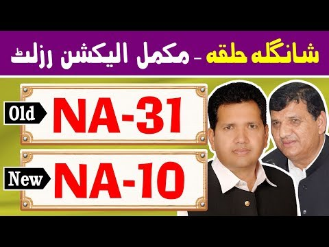 NA-31 (New NA-10) Shangla | Pakistan Election Results | Election Box