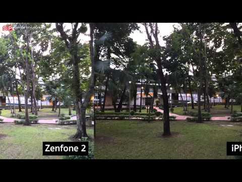 For Example!!!! รูปถ่ายของ Asus Zenfone 2 RAM 4 GB ตัวท็อปดวลกับ iPhone 6