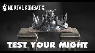 MKX | Test you might : сила пальцев Некроса.